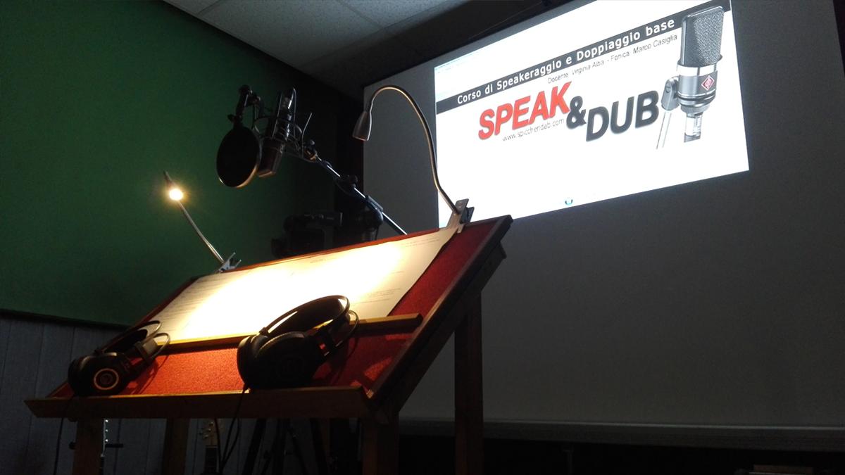 Corso di Speakeraggio e Doppiaggio base